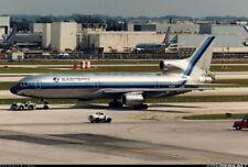 Lockheed Tristar L-1011 Eastern Solid Mahogany Wood Handcrafted Display Model