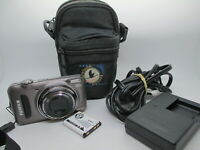 NEW Fuji Finepix T210 14.0 MP Digital Camera Gunmetal with Case