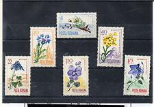 Rumania Flores Serie del año 1967 (CT-762)