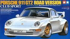 Tamiya 24247 1/24 Model Car Kit Porsche 911 GT2 Road Version Club Sport 993