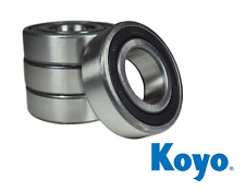 Kawasaki KAF620 Mule 2520 Rear Wheel Bearing Kit 1993-2000 KOYO Made In Japan
