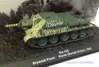 1/72 SU-122 BRYANKS FRONT KURSK SOVIET UNION 1943 WWII TANK TANQUE ALTAYA