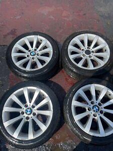 """BMW 3 SERIES 05-12 E90 E91 E92 E93 17"""" Alloy WHEEL SET WITH TYRES 225 45 R17"""