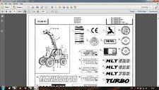 Manitou MLT628 MLT632 MLT728 parts catalog in PDF format