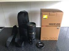 Nikon 70-200mm AF-S f2.8G ED VR II Lens