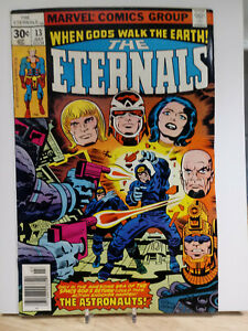 THE ETERNALS #13 VG/F - MARVEL COMICS - MOVIE SOON - ONE OWNER COLLECTION