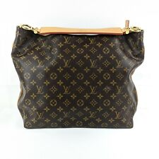 Authentic Louis Vuitton Sully MM Monogram (M40587) Medium Canvas Shoulder Bag