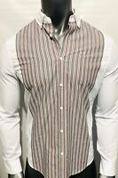 New Armani Exchange Mens SLIM FIT STRIPED SHIRT