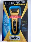 Wahl LifeProof Rechargeable lithium ion wet / dry water proof foil shaver wit...