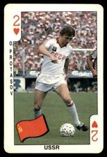 Dandy Gum World Cup 1986 - Two of Hearts O. Protasov (USSR)