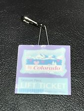 """18"""" Nicki American Girl Doll Retired Ski Wear Outfit Colorado Lift Ticket ONLY"""