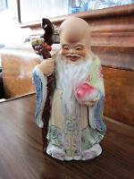 Grosse Chinesische Porzellanfigur Deko