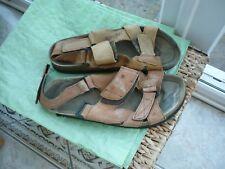 Vintage Jabulani AFRICA Sandales en cuir Taille 9