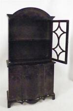 Ideal China Cabinet Dollhouse Furniture Plastic 1950s Large Vintage DOOR MISSING