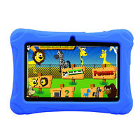 "7"" Tablet PC Quad Core Google Android Dual Camera 16GB Wifi MP4 MP3 Kids Game"