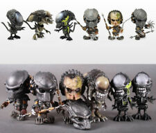 Hot HOTTOYS COSBABY AVP Alien WOLF PREDATOR Figure Model Toy 6pcs Set With Box