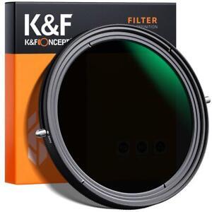 82mm K&F Nano X Circolare Polarizzatore Filtro Sottile CP-L ND Fader NDX2-NDX32