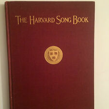 ANTIQUE COLLECTERS ITEM 1923 HARVARD UNIVERSITY GLEE CLUB SONG BOOK, HARD COVER