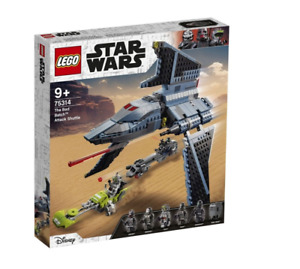 GENUINE LEGO Clone Wars The Bad Batch Attack Shuttle 75314 - BEST PRICE $$$