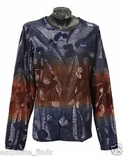 $12,900 NEW VERSACE LIMITED EDITION EMBROIDERED LONG SLEEVE SWEATER SHIRT sz L