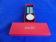 BRITISH FORCES GERMANY 1945 T0 1989 FULL SIZE MEDAL SWING MOUNTED