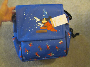Petunia Pickle Bottom Disney Fantasia Sorcerer Mickey Mouse Backpack RETAIL 220$
