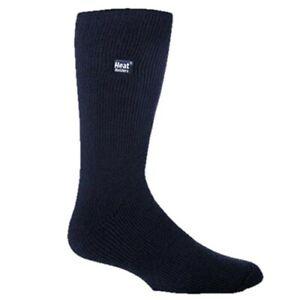 Heat Holders ORIGINAL Winter Warm Thermal Brushed Inner Socks Mens Sizes Navy
