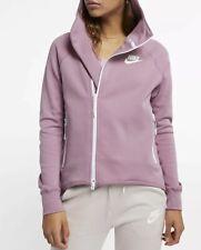 714089f7f69c Nike Sportswear Tech Fleece Full-Zip Cape 930757-515 Plum Dust Size S RRP