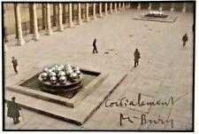 POL Bury-Fontaines Palais Royal 3 (1981) - Enmarcado Firmado Raro