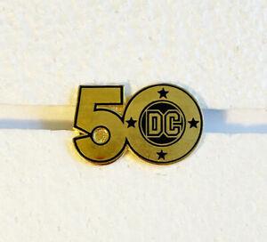 DC Comics 50th Anniversary Pin