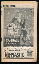 1966 VFL Football Record North Melbourne v Geelong May 21 Kangaroos Cats