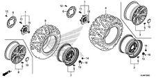 Honda Rear wheel new Pioneer SXS1000 2016 42650-HL4-A00 4x137 steel