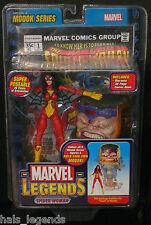 "MARVEL LEGENDS MODOK SERIES. 6 ""spider-woman NUOVO! (AVENGERS / SPIDER-MAN) RARO!"