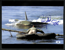 Roy Scheider Jaws Martin Brody Signed Autographed 11X14 Photo Beckett Bas Rare!