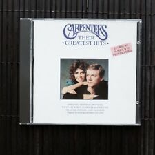 CARPENTERS - THEIR GREATEST HITS  -  CD