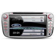 2 DIN Autoradio DVD Navi GPS für FORD Galaxy Mondeo FOCUS C-MAX S-MAX Bluetooth