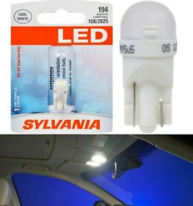 Sylvania Premium LED light 194 White One Bulb Interior Dome Replacement Lamp OE
