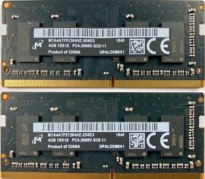MICRON 8GB RAM (2x4GB) PC4 21300 DDR4 2666MHZ 260 PIN PC APPLE MAC OEM TESTED