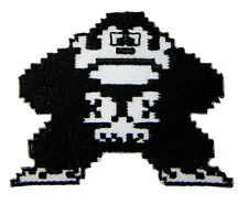 Cute Pretty King Kong 8 Bit Embroidered Iron on Patch Free Shipping
