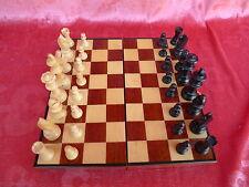 Sublime Jeu d'échecs__échiquier de voyage__bois__