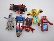 VINTAGE 1985 MC TOYS DYNO DRIVE Friction Robot KO Transformers Figure LOT RARE!