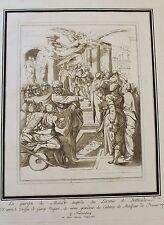 1780 Etching Aquatint after GIORGIO VASARI by MARIA CATHARINA PRESTEL
