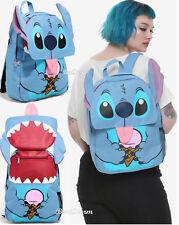 Disney Lilo & Stitch Ears Ice Cream Tongue Flap School Backpack Camp Book Bag