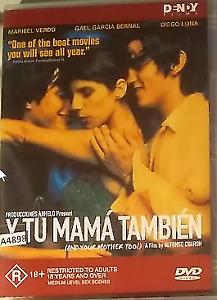 Y Tu Mama Tambien DVD Spanish Movie 2001 - ENGLISH SUBTITLES - Widescreen REG 4
