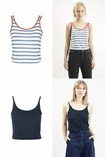 Topshop Polyester Scoop Neck Sleeve Tops & Shirts for Women