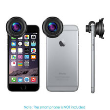Neewer 2 in 1 Phone Lens Kit with 4K HD Wide Angle and 15X Macro Lens for iPhone