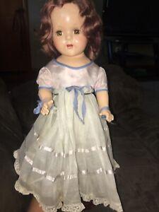 "Lady Alexander Princess Elizabeth Doll 1937 Rare Vintage 15""  Sleepy Eyes"