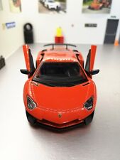 Lamborghini Aventador LP750-4 SV Rouge - 1/24 BURAGO SANS SA BOÎTE