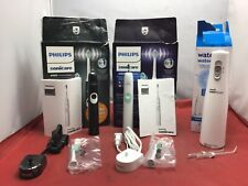 (Lot of 3) Various Oral Care Products: Philips Sonicare 4100 & More - USED