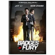 Badges of Fury (DVD, 2014) Zhang WEN, JET Electric Li, Michelle Chen, Liu Yang